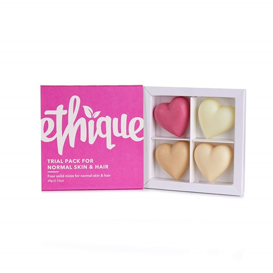 Ethique Gift Trial Pack - For Normal Skin & Hair