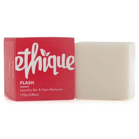 Ethique Flash! Solid Laundry Bar & Stain Remover 110g