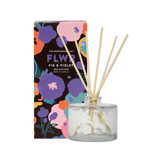The Aromatherapy Co FLWR Diffuser Fig and Violet 90ml