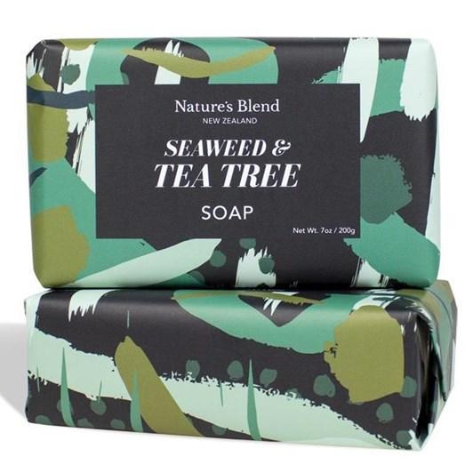 Natures Blend Seaweed & Tea Tree Soap 200g