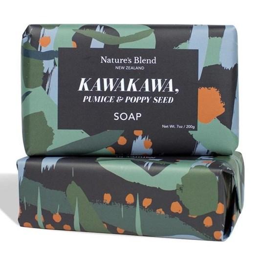 Natures Blend Kawakawa, Pumice & Poppy Seed Soap 200g