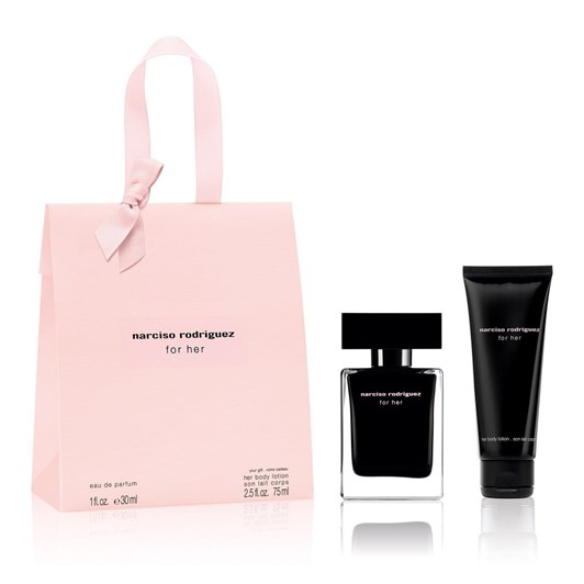 Narciso Rodriguez For her EDT Shopping Bag (30ml + 75ml Body Lotion)