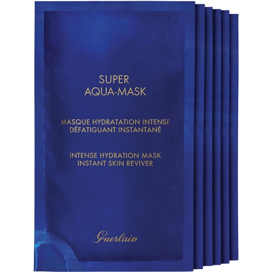 Guerlain Super Aqua Sheet Masks x6 Sachets