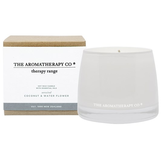 The Aromatherapy Co Therapy® Candle Unwind - Coconut & Water Flower