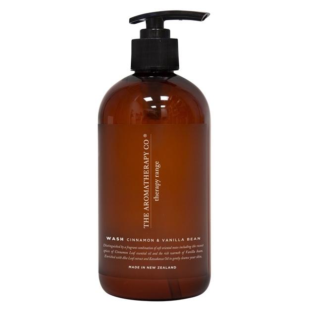 The Aromatherapy Co Therapy® Hand & Body Wash - Cinnamon & Vanilla Bean - na