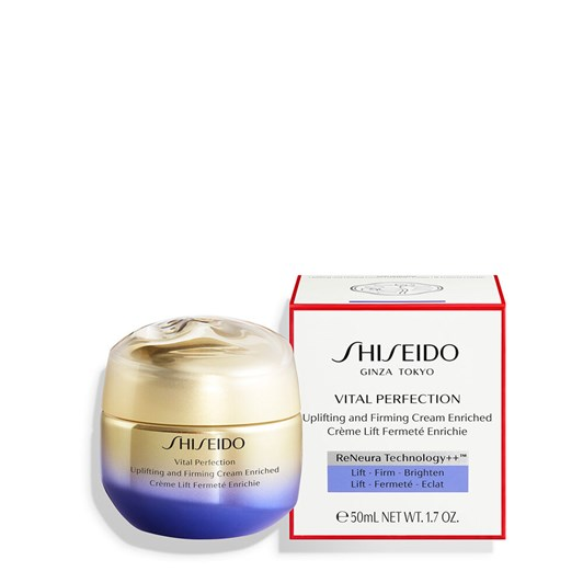 Shiseido Vital Perfecting Uplifting and Firming Cream Enriched 50ml
