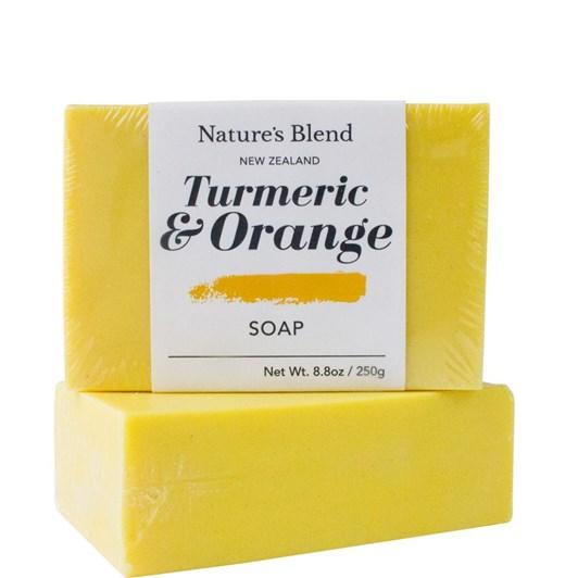 Natures Blend Turmeric & Orange Soap Bar 250g