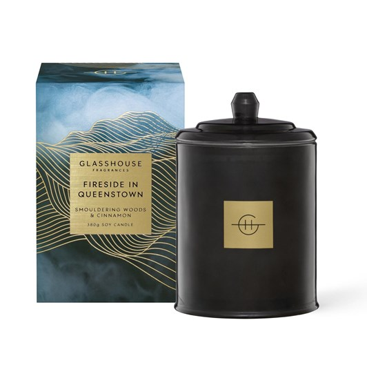 Glasshouse A Fireside In Queenstown 380g Candle