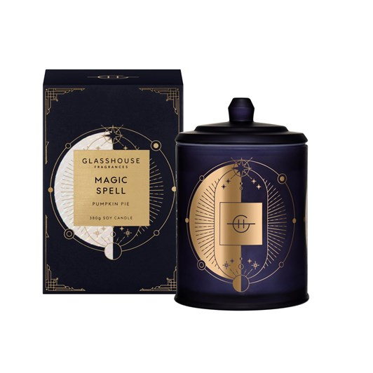 Glasshouse Fragrances 380g Candle - Magic Spell