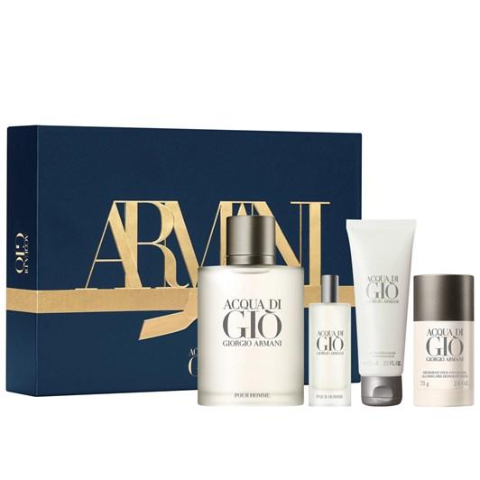 Giorgio Armani Acqua Di Gio Pour Homme EDT Fragrance 4-Piece 100ml Gift Set