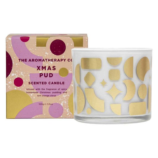 The Aromatherapy Co Xmas Pud Candle 100g