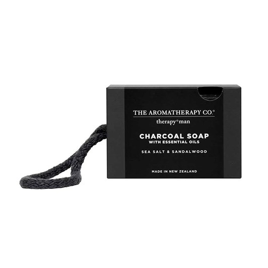 Therapy Man Charcoal Sea Salt & Sandalwood Soap 225g