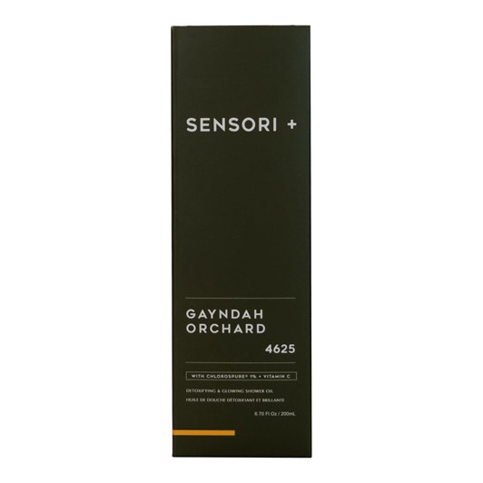 Sensori + Detox & Glow Shower Oil Gayndah Orchard 200ml