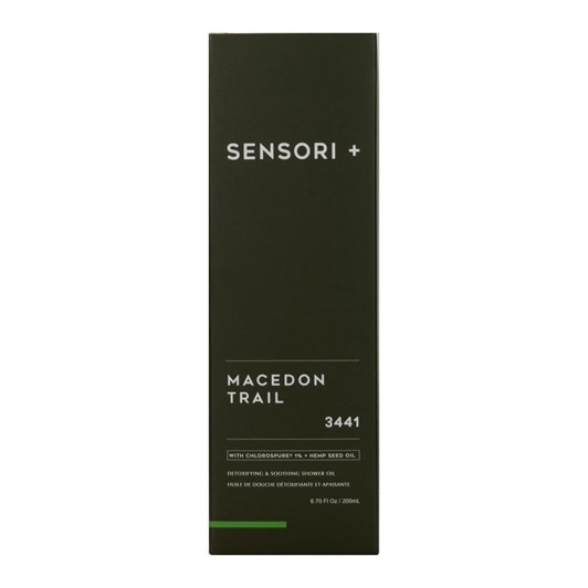Sensori + Detox & Soothe Shower Oil Macedon Trail 200ml