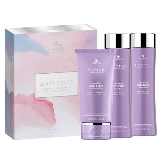 Alterna Anti-Frizz Trio: Shampoo/Conditioner/ Nourishing Oil