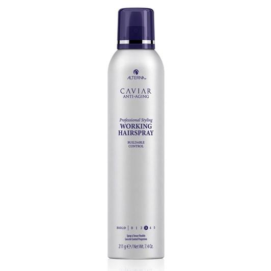 Alterna CAVIAR Anti-Aging Professional Styling Working Hair Spray 211g