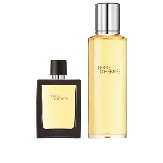 Hermes Terre d'Hermes Eau de Toilette Travel Spray and Refill