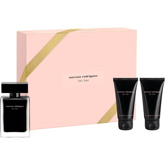 Narciso Rodriguez For Her EDT 50ML + BL 50ML + SG 50ML