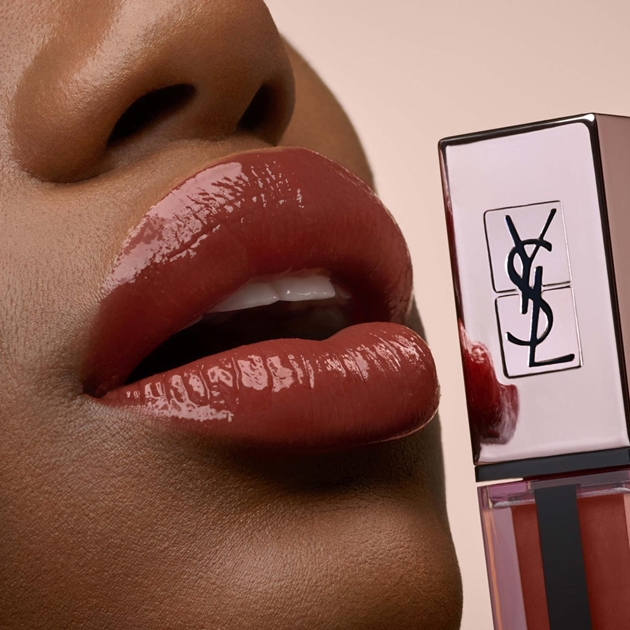 Yves Saint Laurent Vernis À Lèvres Water Stain Glow Lip Gloss - 213 no taboo chili