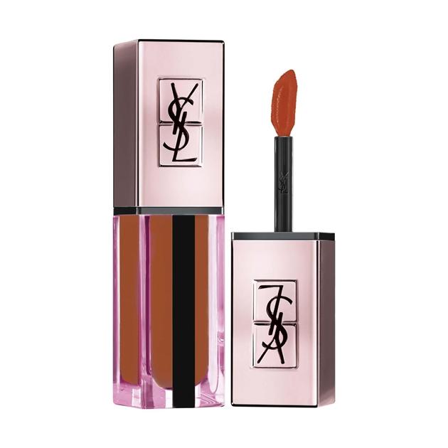 Yves Saint Laurent Vernis À Lèvres Water Stain Glow Lip Gloss - 214 illicit orange