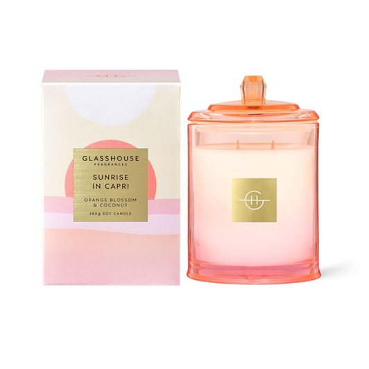 Glasshouse Sunrise in Capri 380g Candle