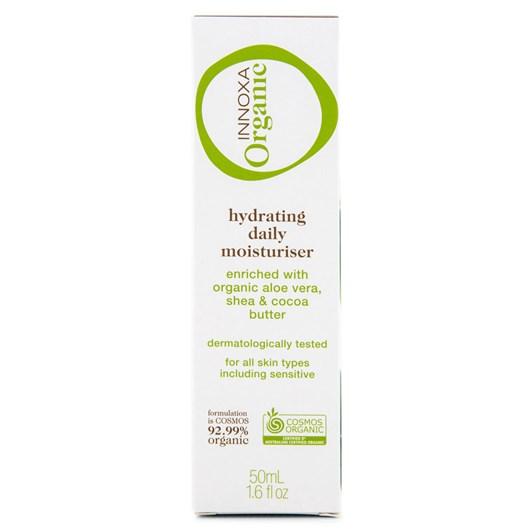 Innoxa Organic Hydrating Daily Moisturiser 50ml