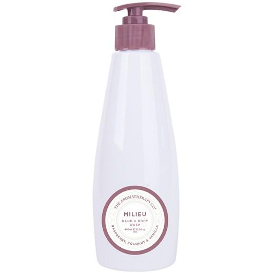 The Aromatherapy Co. Milieu Hand & Body Wash 400ml - Raspberry Coconut & Va