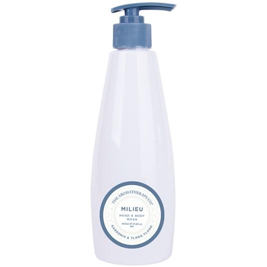 The Aromatherapy Co. Milieu Hand & Body Wash 400ml - Gardenia & Ylang Ylang