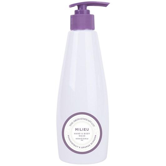 The Aromatherapy Co. Milieu Hand & Body Wash 400ml - Passionfruit & Orange
