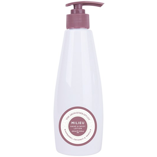 The Aromatherapy Co. Milieu Hand & Body Lotion 400ml - Raspberry Coconut &