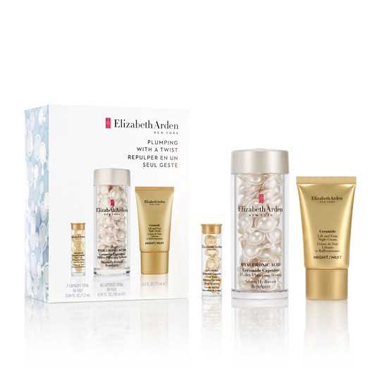 Elizabeth Arden Skin Plumping Hyaluronic Acid Capsules 60-Piece Set
