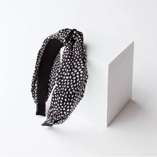 ADORN By Mae. Headband Seaspray Black
