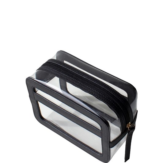 Tender Love + Carry Stay Wild Clear Carry Box - Black