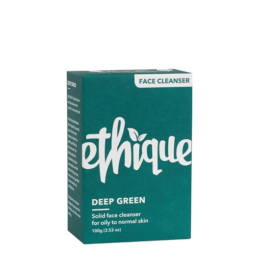 Ethique Deep Green - Face Cleanser for Oily to Normal Skin 100g