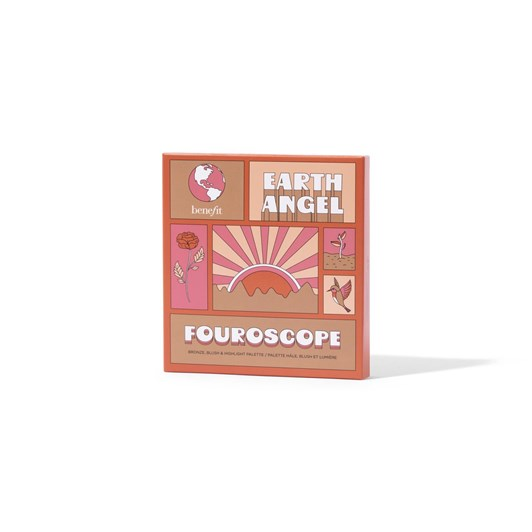 Benefit Fouroscope 2021 4 Square Palette #1 Earth Angel