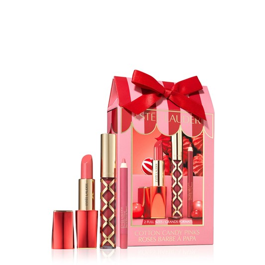 Estee Lauder Cotton Candy Pinks Gift Set (Valued at $131)