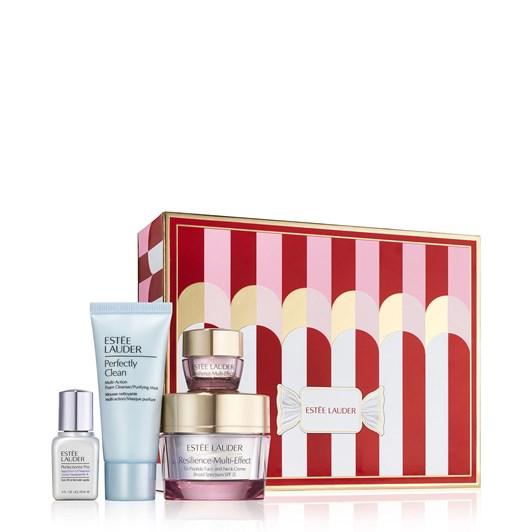 Estee Lauder Lift + Glow Skincare Treats Gift Set (Valued at $322)