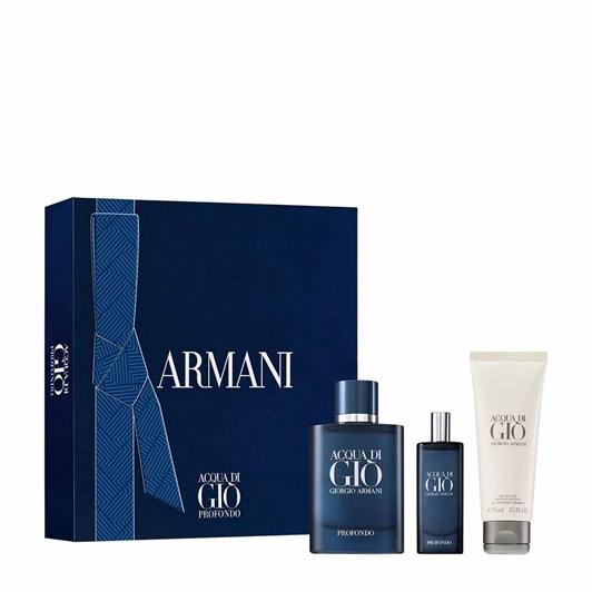 Giorgio Armani Acqua Di Gio Profondo Set