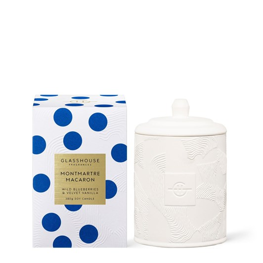 Glasshouse Montmartre Macaron 380g Soy Candle 21