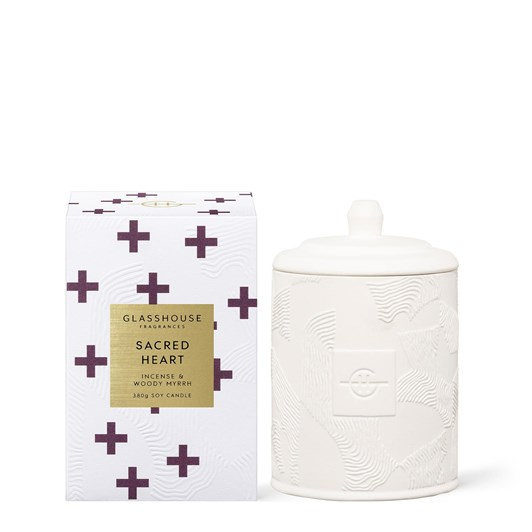 Glasshouse Fragrances Sacred Heart 380g Soy Candle 21
