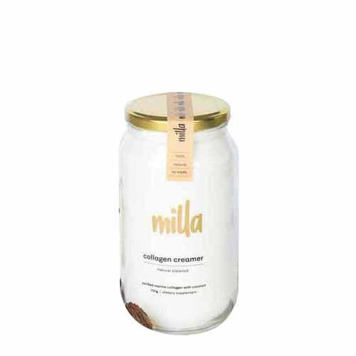 Milla Collagen Creamer Natural Coconut 350g