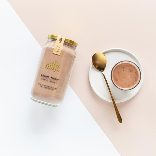 Milla Collagen Creamer Organic Cocoa 350g