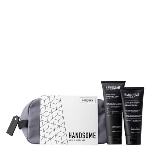 Handsome The Conquer Set - Facial Wash & Facial Moisturiser