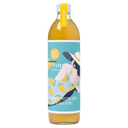 Fiovana Mango, Passion Fruit & Goji Berry Superfruit Cordial 500Ml
