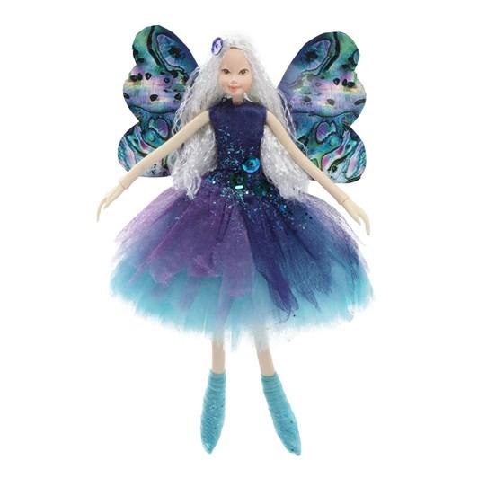 Teal Paua Shell Fairy