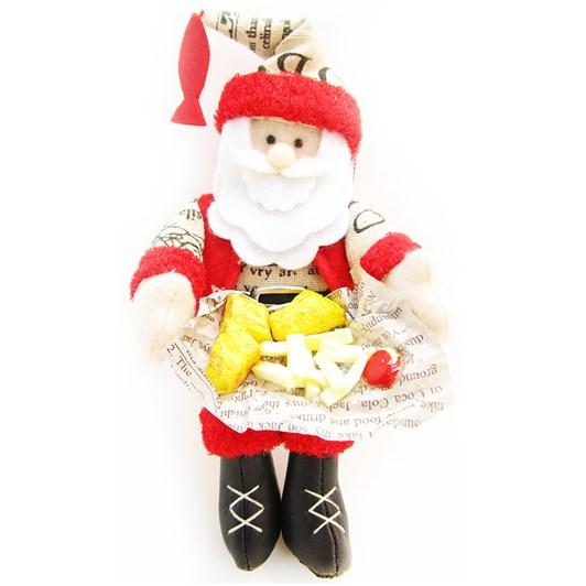 Fish & Chip Santa Decoration