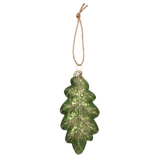 Glitter Leaf Decoration