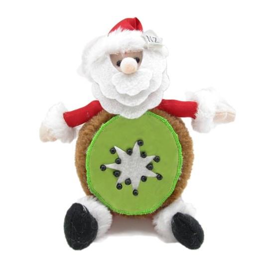 Kiwifruit Santa Decoration