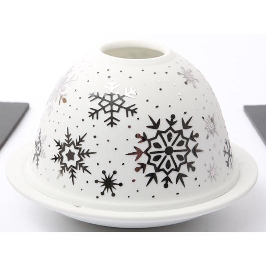 Hellmann Brilliant Light Silver Snow Flakes