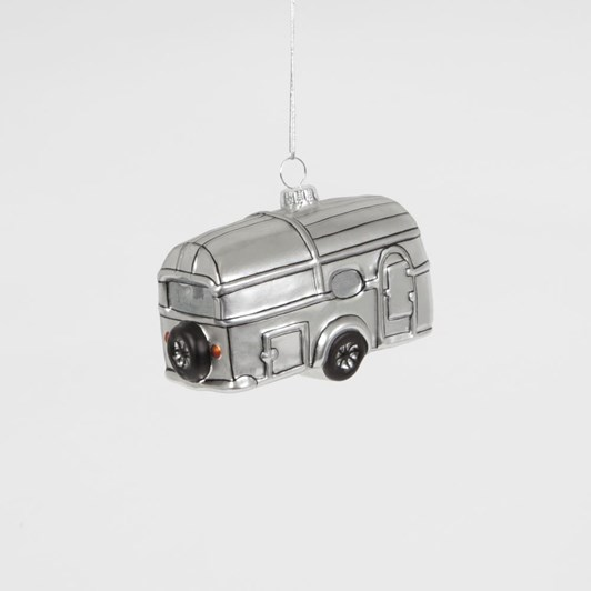 Sass & Belle Silver Trailer Hanging Decoration